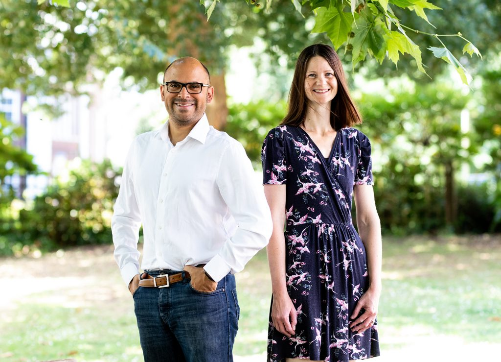 Ruth Nixey and Sebastian Swana - Directors - Exeter Tutors - One-to-one tuition