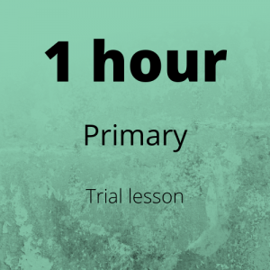 Trial Primary Lesson