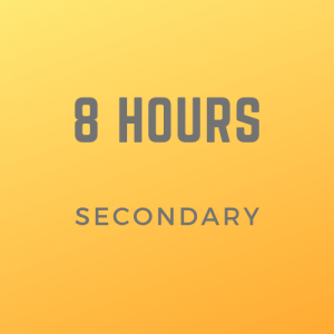8 Secondary lessons with Marianna T